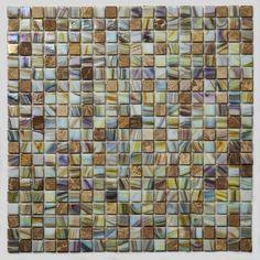 Stone Mosaic Sheet -Travertine Cream Blend - Glass - Art - Tile - Bathroom - Jacuzzi Tile Art - Spa Tile Art   #Mozaico