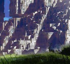 ArtStation - Giant castle - 02, Paul Chadeisson