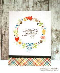 Hi everyone!     Today is reveal day for the Simon Says Stamp October 2016 Card Kit !!     October's kit has got me ready for Autumn wi...