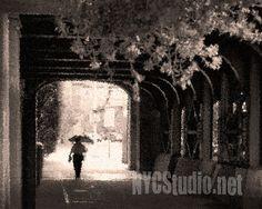 Walking in the rain 8x10 Fine art photo print by nycstudio on Etsy, $25.00