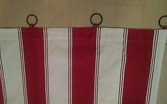 Pottery-Barn-Striped-Curtains-With-Attached-Curtain-Rings-44x84-4