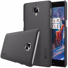 Frosted Shield Plastic Hard Back Cover Case For OnePlus with Screen Protector