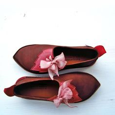 UK 5, PYRAMUS in Chestnut, Rose 2528 | Fairysteps - Shoes & Bags