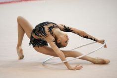 Rhythmic Gymnastic hooping