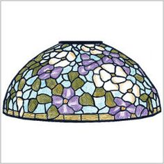 Pattern packet for a Tiffany style lamp