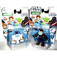 NEW Star Wars Jedi Force Playskool Action Figures GIFT SET ! (Anakin Skywalker & R2D2) http://geek.ragebear.com/09ynk