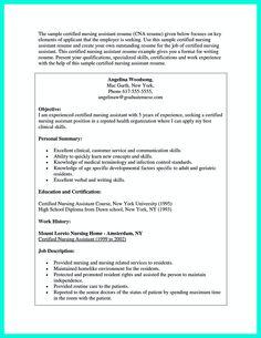 Sample Resume Templates For Cna   Resume Sample Information BizDoska com Certified Nursing Assistant Resume Examples Cna Resume Sample sample resume  cna cna cover letter sample no