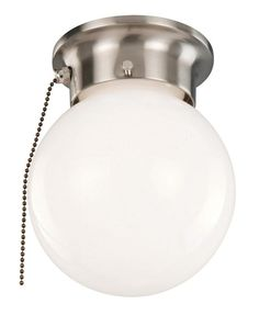 Ceiling Mount Light With Pull Chain Fair How To Add A Pull Chain Switch To A Ceiling Light Fixture  Diys Inspiration