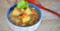 Klunker's Plant-Based Kitchen: Potato, leek, and lentil soup