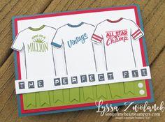 Custom Tee Designer Shirt Stampin Up Control Freaks Blog Hop tees tshirt stamp sports masculine male cards