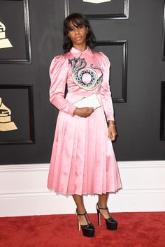 Santigold - Every Look from the 2017 Grammy Awards - Photos