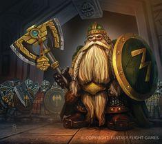 En las profundidades de las fortalezas, los Rompehierros están siempre disponibles, listos para...
