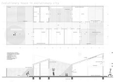OPERASTUDIO - Competition - Casa patio pavillion - #Luanda - #plan #section #enviroment