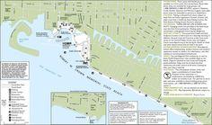 Crown Memorial State Beach - Alameda, CA, United States. Beach Trail Map