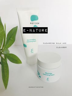 e nature review cleansing balm and marshmallow cleanser Cleansing Oil, Acne Skin, Beauty Review, Marshmallow, The Balm, Herbalism, Skincare, Nature, Naturaleza