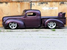 1940 Dodge pickup. A truck like this will be mine someday!