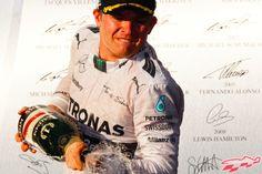 Rosberg domina a Hamilton; Checo el más rápido del GP de Austria