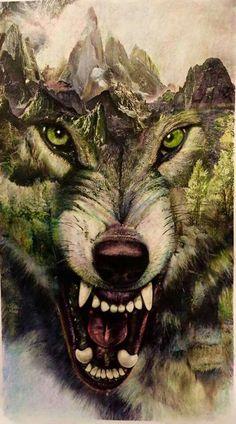 wolf tattoo designe - Sister and Brother Wolf Tattoo Design, Wolf Design, Design Design, Wolf Love, Wolf Tattoos, Wolf Spirit, Spirit Animal, Fantasy Wolf, Fantasy Art