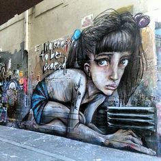 Herakut New Mural In Melbourne, Australia
