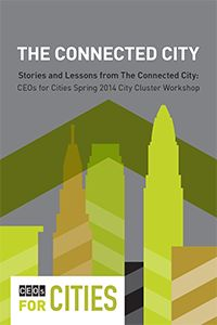 The Connected City Report, written by Jay Walljasper, delivered lessons-learned and a look back at the City Cluster workshop.