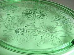 Sunflower Depression Glass