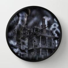 Twister Mansion  Wall Clock
