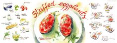 Stuffed Eggplants<span class='title_artist'> by Aliona Bereghici</span>