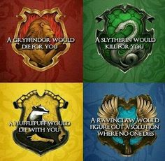 Yeah, that's true. I took Pottermore and I got Ravenclaw, so I'm glad my friends and me don't have to die any time soon. I can find a solution! <<<I got Ravenclaw and Slytherin XD XD I guess my solution involves killing someone. Harry Potter Thema, Theme Harry Potter, Harry Potter Puns, Harry Potter Universal, Harry Potter World, Harry Potter Hogwarts, Harry Potter House Quiz, Houses In Harry Potter, Harry Potter House Descriptions