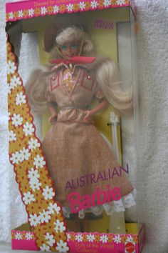 """Mattel """"Australian Barbie"""" Dolls of the World Collection  #3626 - Special Edition"""