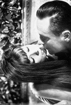 Memory: Publicity stills of Paris When It Sizzles showed Audrey Hepburn and William Holden...