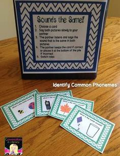 Build Phonemic Awareness:  Isolate Phonemes and Identify Common Phonemes- 4 center activities for hearing beginning, middle, & ending sounds; 2 assessments are included!