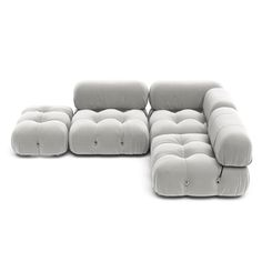 Description Designer     The sectional elements of Camaleonda sofa can be used freely and apart from one another. The backs and armrests are provided with rings and carabiners, which allows the user to create a perfect 'seating landscape'. The sofa is very comfortable and the fact this wonderful piece is modular, provides endless flexible solutions for any project or living room.   Material & Feature:  Structure: Frame made from naturally rot resistant Merbau wood; No chemical treatment Cons Pewter Grey, Blue Grey, Leather Granite, Cashmere Cape, Fathers Day Sale, Bellini, Green Velvet, Vintage Leather, Midnight Blue