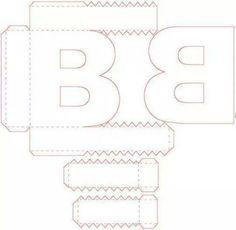 30 best abc images on pinterest cartonnage 3d letters and letters
