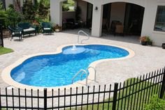 trilogy picasso pool - This is our favorite for the space we're wanting to use.