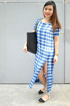 Life in the Fash Lane: Tie Dye Tie Dye Dress, Shirt Dress, Casual Chic, Gingham, That Look, Spring Summer, Shirts, Inspiration, Inspired