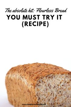 The Absolute Hit: Flourless Bread – You Must Try It (Recipe) - Healthy Life Style Tips Gluten Free Baking, Gluten Free Recipes, Gourmet Recipes, Low Carb Recipes, Cooking Recipes, Healthy Recipes, Ww Recipes, Sausage Recipes, Cooking Tips