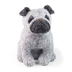Who doesn't love a pug? Dora Designs Puggles Pug Door Stop will keep your door open or shut, if you please! Free p&p