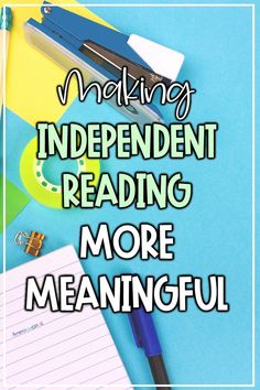 Learn how to make make novel studies and independent reading more meaningful in your upper elementary classroom! This post shares reading strategies and tips for teachers. Students in 4th, 5th, and 6th grade are more engaged in guided and independent reading when given choice, authentic books and assignments, and the opportunity to make connections with the text! #upperelementary #ela #readingstrategies #independentreading Reading Response Activities, Reading Comprehension Strategies, Reading Fluency, Reading Intervention, Reading Resources, Teaching Reading, Independent Reading, All I Ever Wanted, Upper Elementary