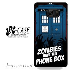 Zombie Have The Phone Box Tardis DEAL-12224 Samsung Phonecase Cover For Samsung Galaxy Note 7