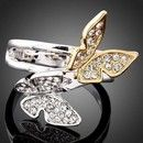 Inel fashion GP 18K Gold butterfly