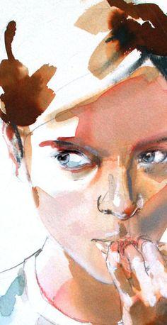 Aleksandra Szpunar #watercolor