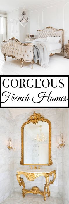 3 Secrets To French Decorating: Versailles Inspired Rooms                                                                                                                                                      More