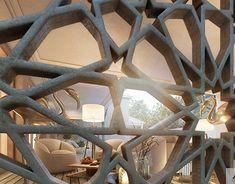 Arabic Modern HouseLocation Riyadh Saudi ArabiaArabic Modern DesignBuilt Up Area 400 Modern Interior, Home Interior Design, White Mansion, Villa Plan, Mosque Architecture, Classic House Design, Classic Building, Moroccan Design, Villa Design