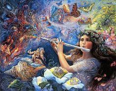 Bambina col flauto