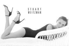 kate moss stuart weitzman2 Kate Moss Plays Pin up in Stuart Weitzmans Spring 2014 Ads