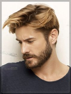 32 Beard Styles For Oval Face Mens Facial Hair Styles For Oval Face, A chin curtain is the very best option. The eyebrows are among the few facial features which can be shaped to improve the attractiveness of the face. Mens Facial, Facial Hair, Beard Styles For Men, Hair And Beard Styles, Cool Haircuts, Haircuts For Men, Bart Styles, Medium Hair Styles, Short Hair Styles