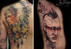 See How This Tattoo Artist Creates Amazing Tattoos Without Sketches