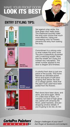 CertaPro style tip: your front door