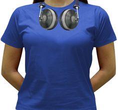 Camiseta DJ - HeaDisco - Baby-look