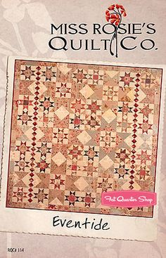 Color Change  Eventide Quilt Pattern Miss Rosie's Quilt Company